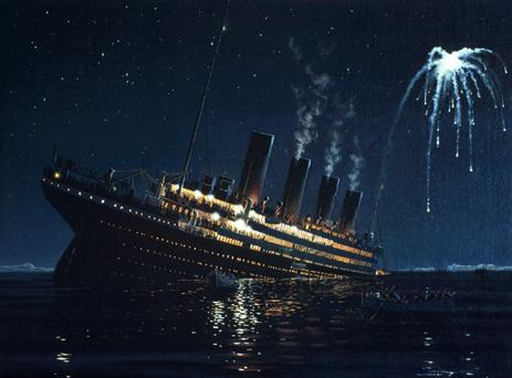 Titanic clipart shipwreck Of beautiful sinking Heartbreaking Heartbreaking