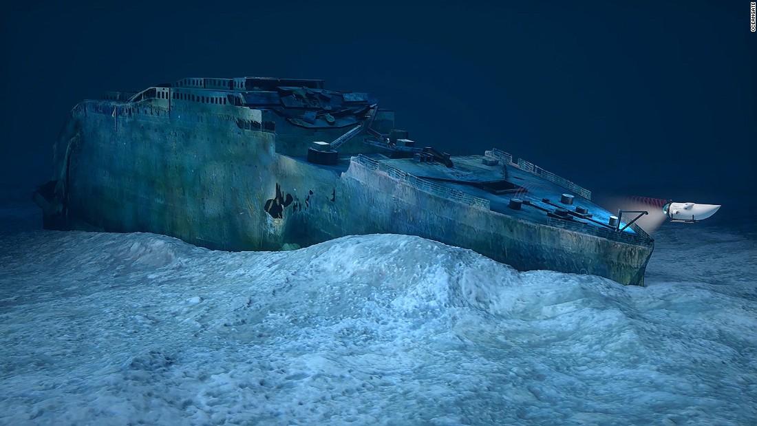 Titanic clipart shipwreck Wreck tours to  site