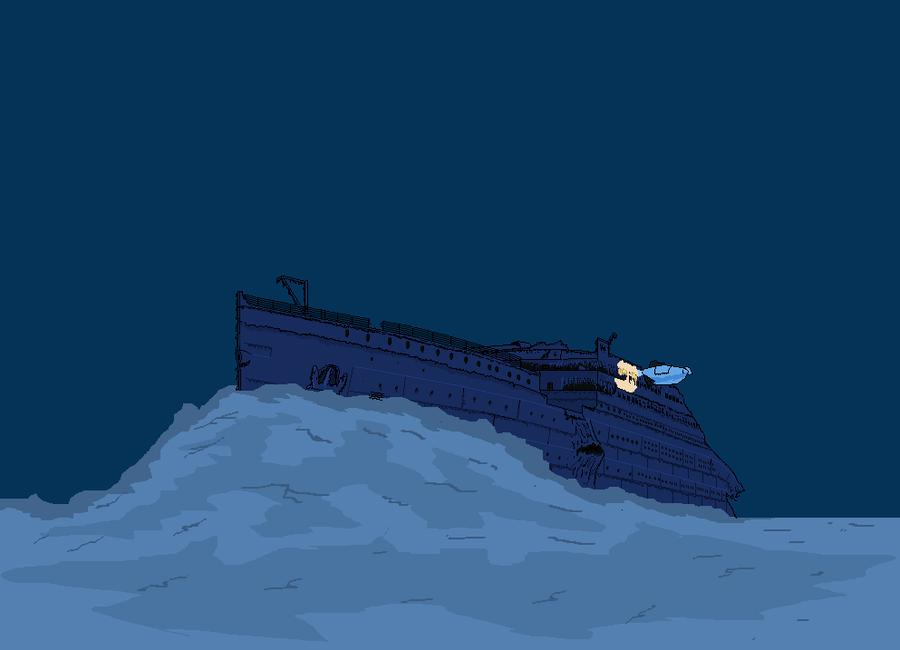 Titanic clipart shipwreck By Titanic titanicwreck TimeLordParadox alotef