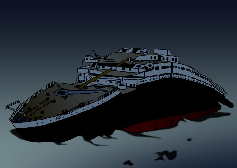 Titanic clipart shipwreck Shipwreck RMS Wreckage Titanic Titanic