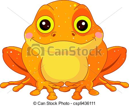 Toad clipart Illustration Toad of Vector Toad