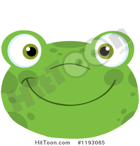 Toad clipart frog face #5