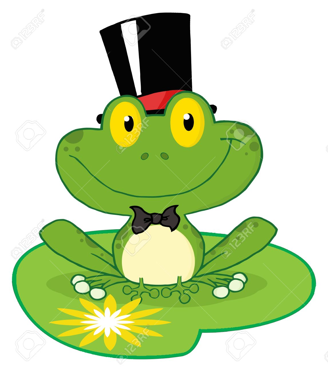 Toad clipart leap frog #5