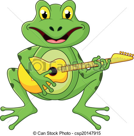 Toad clipart leap frog #3