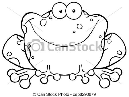 Toad clipart speckled frog #4