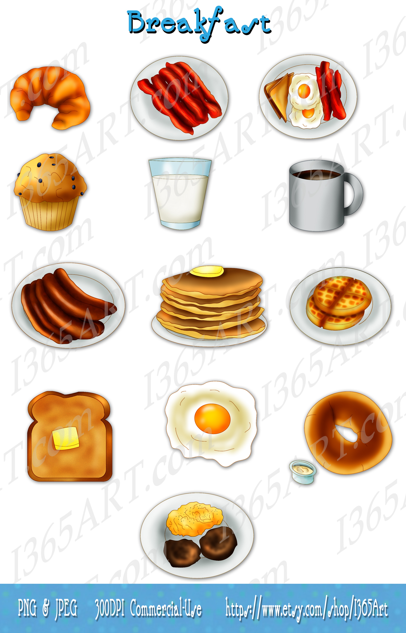 Toast clipart coffee and Eggs pancakes  $3 toast