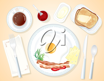 Toast clipart coffee and With toast egg  iCLIPART