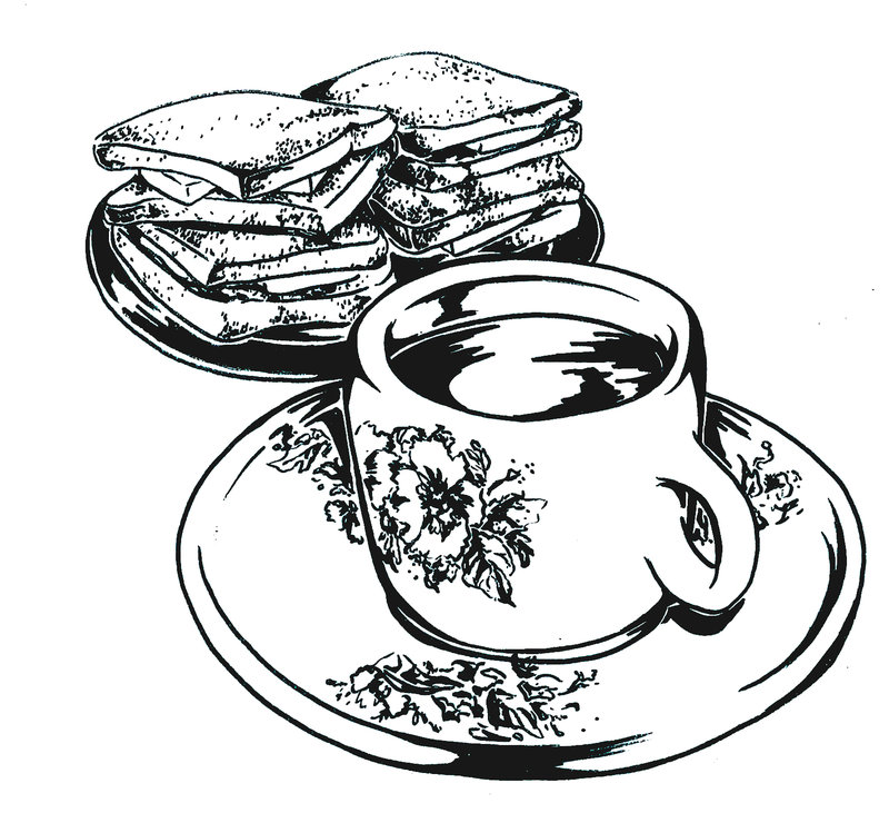 Toast clipart coffee and And toast anuhesut Coffee DeviantArt