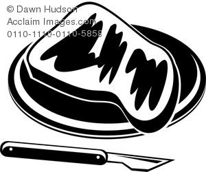 Toast clipart plate Black Plate Toast and White