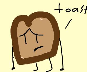 Toast clipart sad Of sad slice of sad