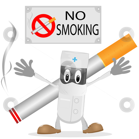 Tobacco clipart anti Vector and The and cigarette