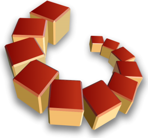 Cube clipart red Download Array Art Cube Cubes