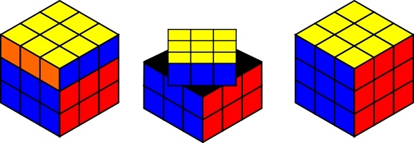 Tofu clipart 3d cube Clip Rubik drawing svg in