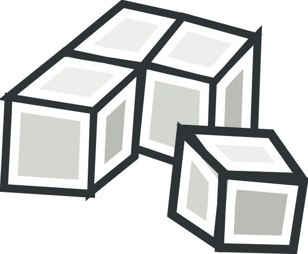 Tofu clipart 3d cube Free Tofu ( svg office