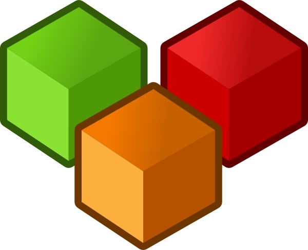 Tofu clipart 3d cube In Cubes  svg art
