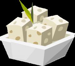 Tofu clipart Free Art Clip Tofu