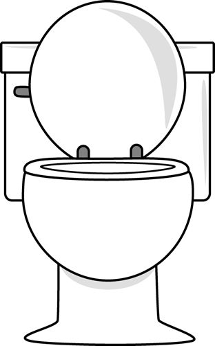 Toilet clipart Clip art toilets and #9775