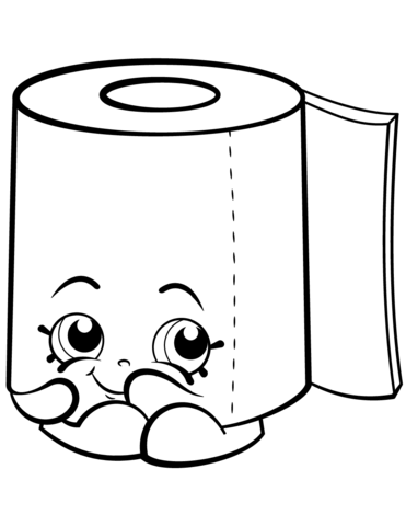 Toilet clipart coloring #2