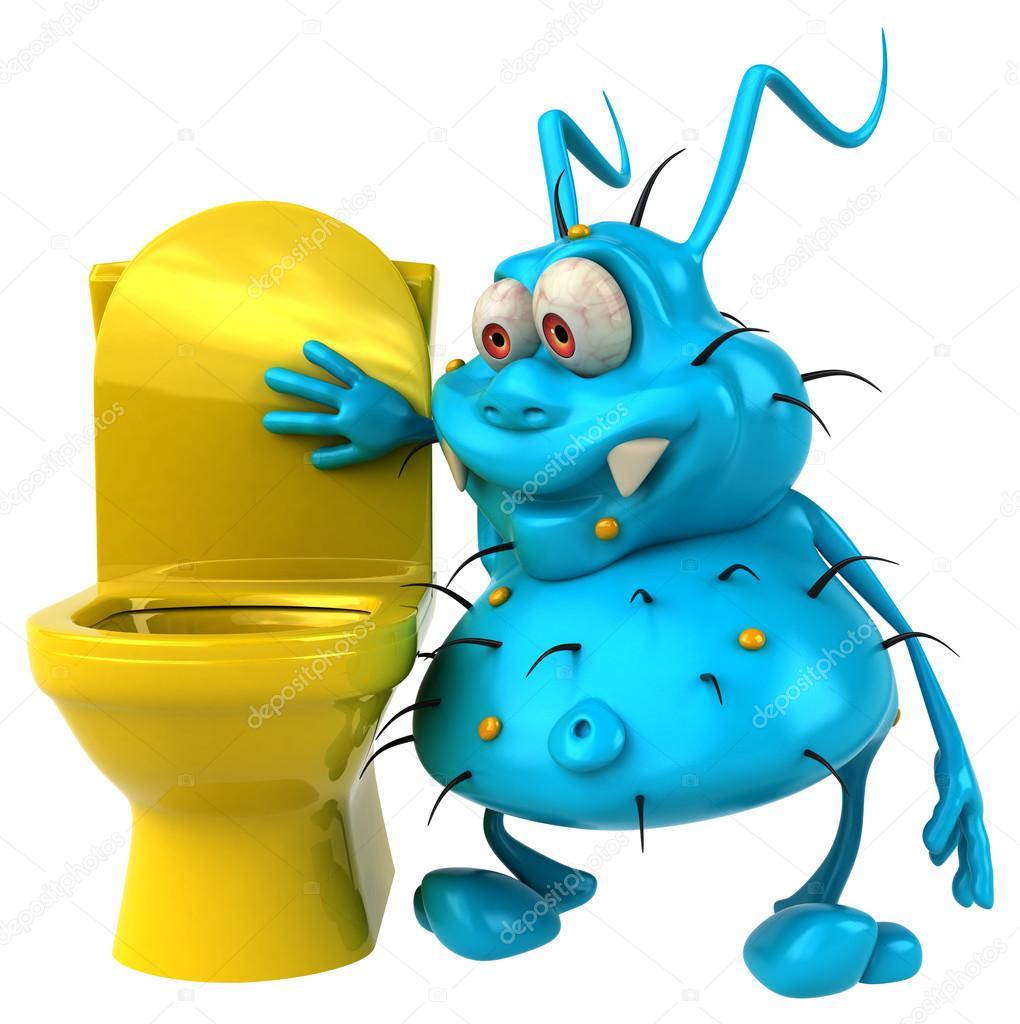 Toilet clipart germ #3