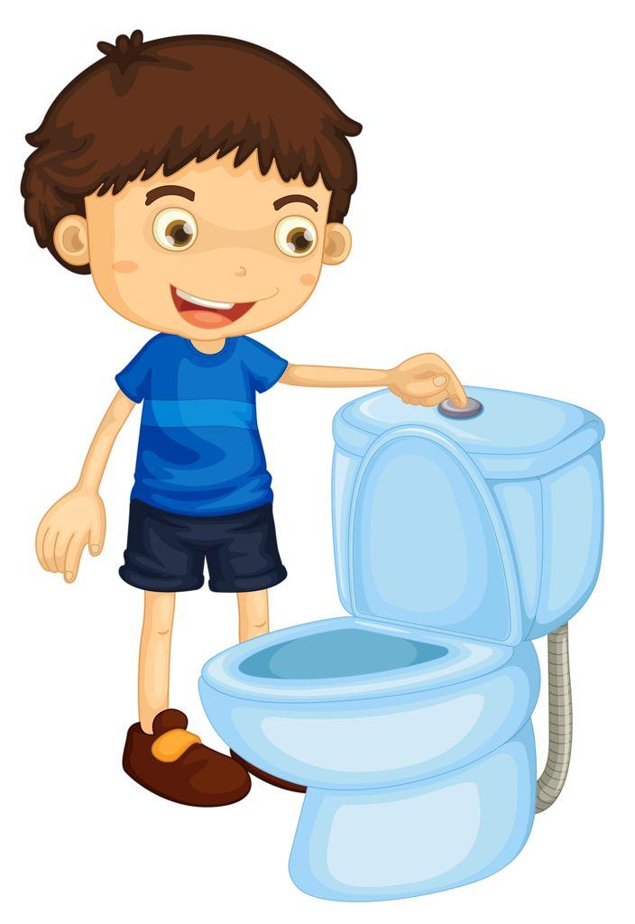 Toilet clipart preschool #6