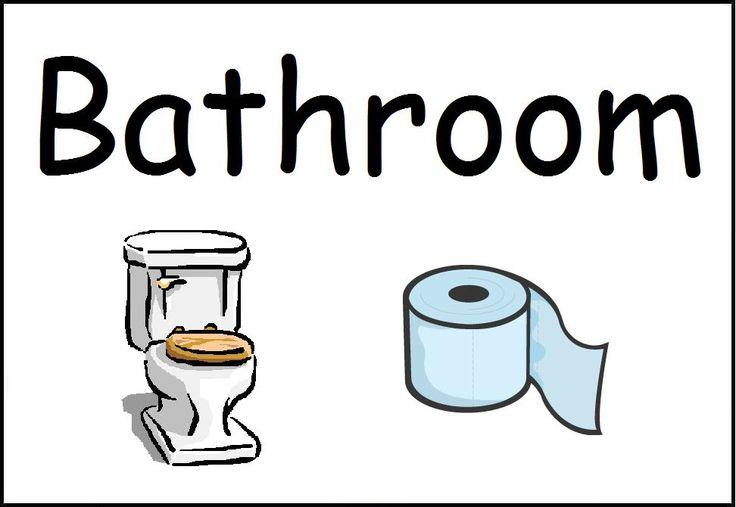 Toilet clipart preschool #4