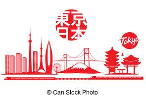 Tokyo clipart Clipart vector 3 Stock Tokyo