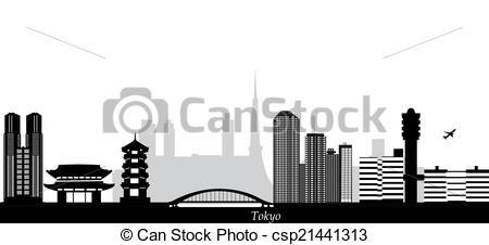 Tokyo clipart Tokyo Skyline Clipart Tokyo clipart skyline skyline clipart