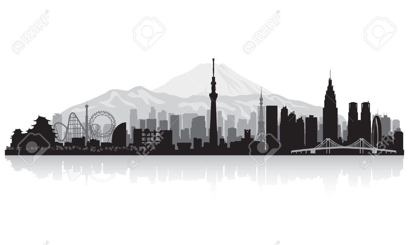 Tokyo clipart Tokyo Skyline Clipart Explore http://previews and Tokyo Tattoo