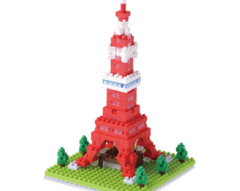 Tokyo clipart Tokyo Tower Micro TOWER nanoblock Construction sized