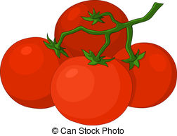 Red clipart tomato #9