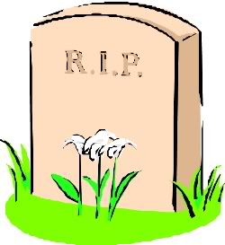 Deadth clipart grave Tombstone image Headstone art #37655