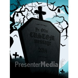 Tombstone clipart halloween tombstone Message Health Presentation  Clipart