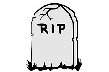 Tombstone clipart here lies Queen's RIP Clip  Art