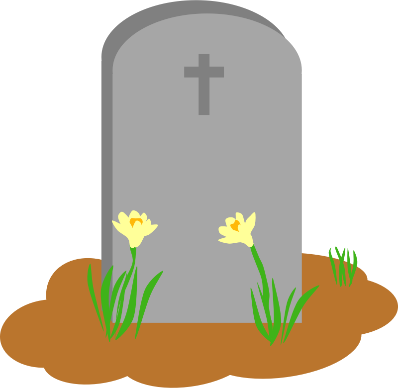 Tombstone clipart plain Art pw Tombstone5 Images Clipart