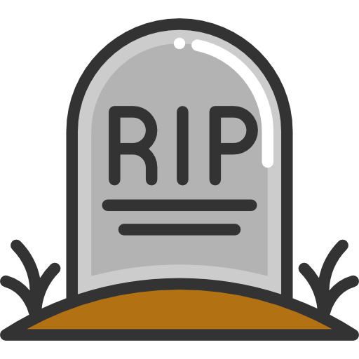 Tombstone clipart transparent Tombstone  Icon