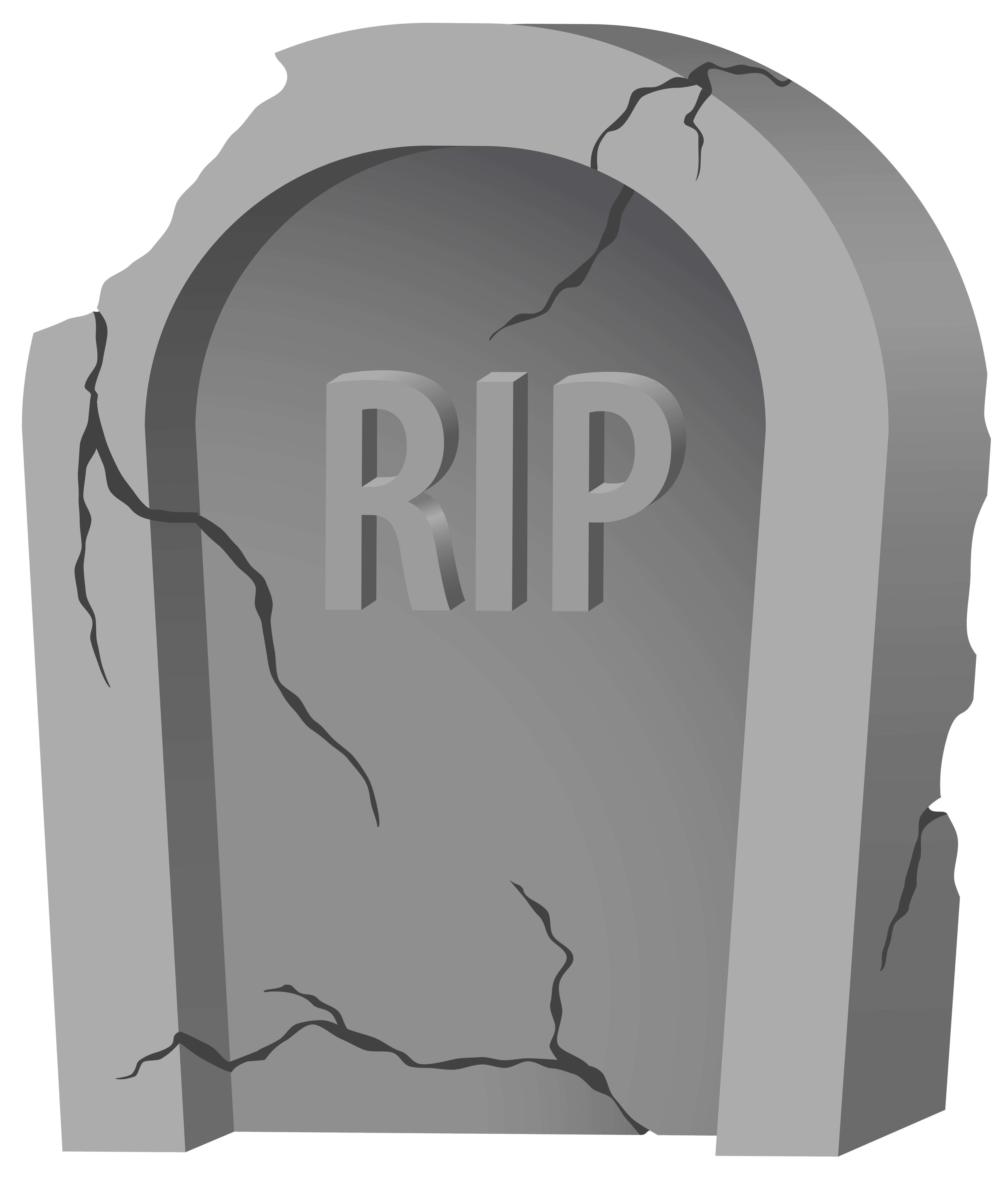 Tombstone clipart transparent Full View and size Image