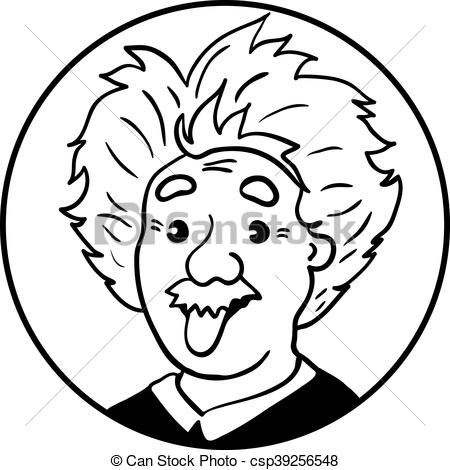 Tongue clipart einstein #9
