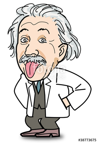 Tongue clipart einstein #4