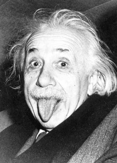 Tongue clipart einstein #7