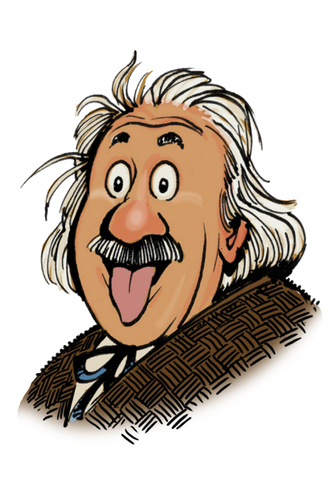 Tongue clipart einstein #10