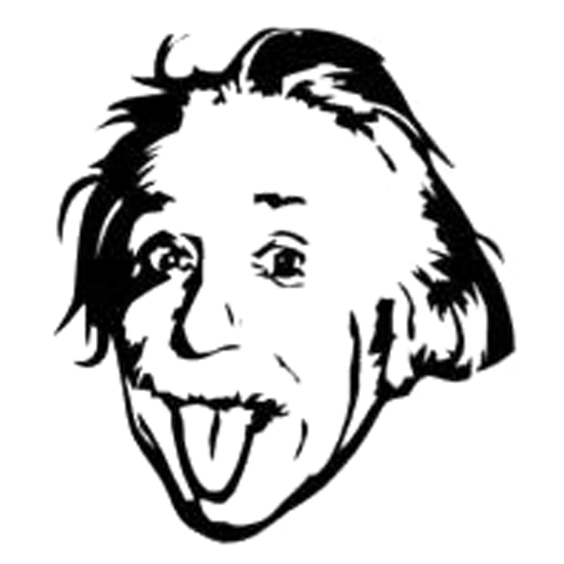 Tongue clipart einstein #6