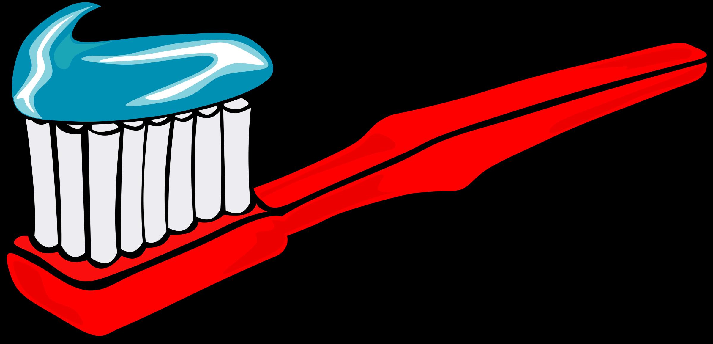 Toothbrush clipart big #1