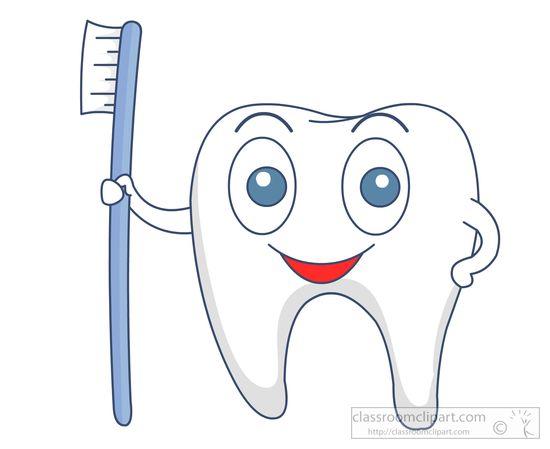 Teeth clipart dental hygiene Character clipart with jpg :