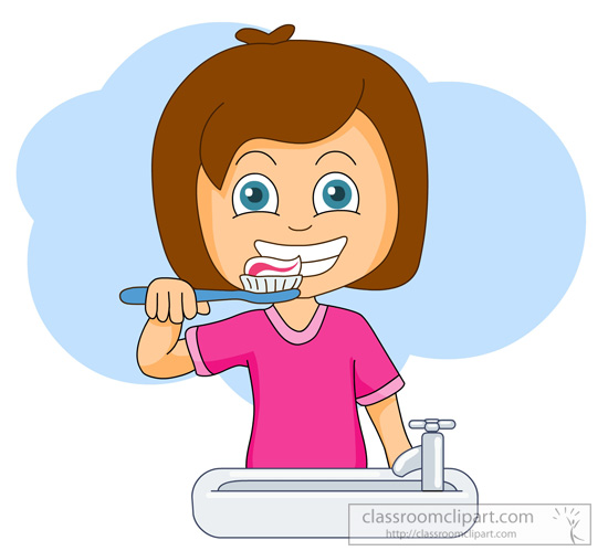 Teeth clipart teeth brushing For toothpaste clipart graphics at