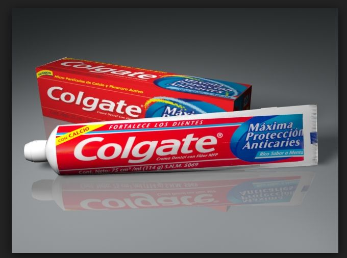 Toothbrush clipart colgate toothpaste #11