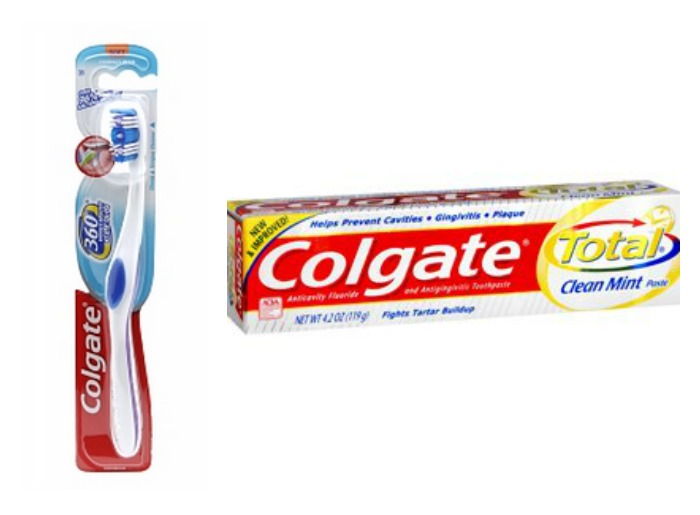 Toothbrush clipart colgate toothpaste #4