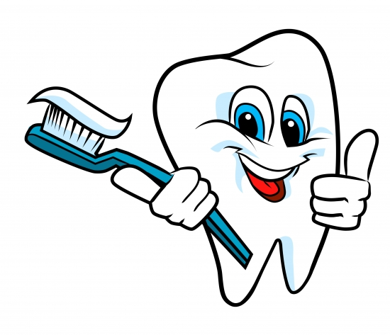 Toothbrush clipart dental care #7