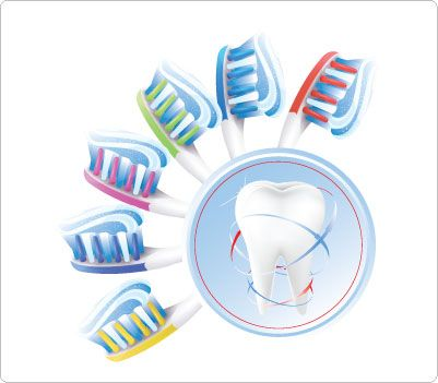 Toothbrush clipart dental care #11