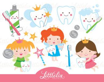 Teeth clipart kawaii 15060 Etsy clipart fairy clipart