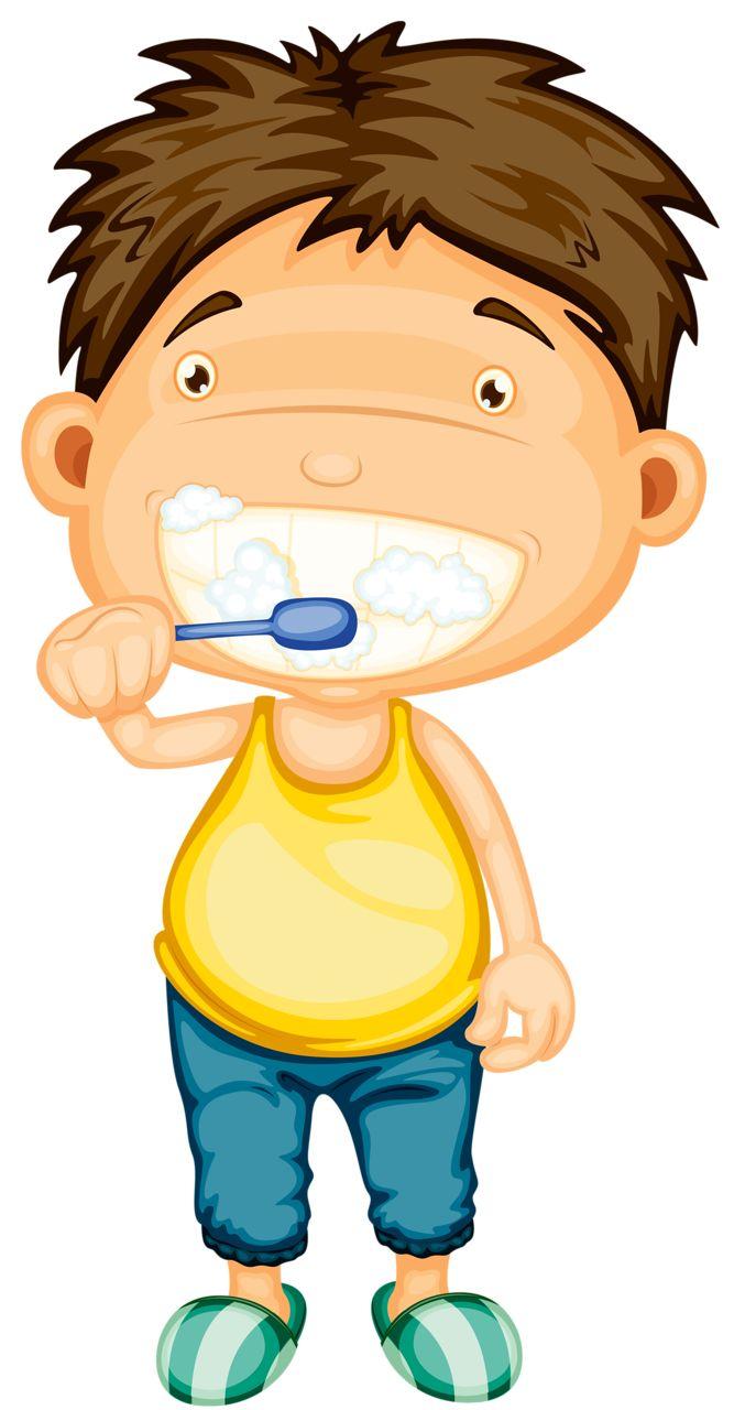 Toothbrush clipart kid chore #13